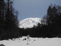 Montagne nel Giappone Fotografia Stock