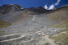 Montagne nel Kirghizstan Immagine Stock Libera da Diritti