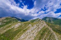 Montagne nel Montenegro Fotografia Stock Libera da Diritti