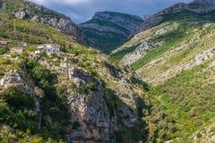 Montagne nel Montenegro Fotografie Stock Libere da Diritti