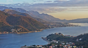 Montagne nel Montenegro Immagini Stock Libere da Diritti