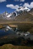 Montagne nel Perù Fotografia Stock