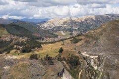Montagne nel Perù Immagini Stock Libere da Diritti