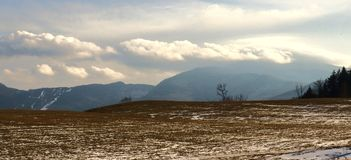 Montagne nel Vermont fotografia stock libera da diritti