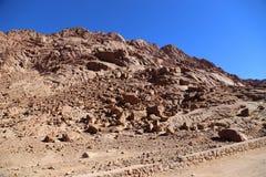 Montagne nell'Egitto Fotografia Stock