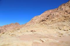 Montagne nell'Egitto Fotografia Stock Libera da Diritti