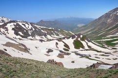 Montagne nell'Iran Immagine Stock