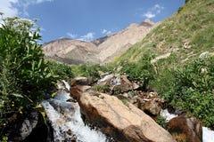 Montagne nell'Iran Immagini Stock