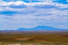 Montagne nella distanza Immagine Stock Libera da Diritti