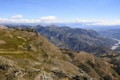 Montagne nella parte due del Perù Immagine Stock Libera da Diritti