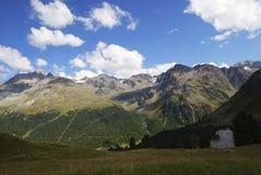 Alpi nel Vinschgau Immagine Stock