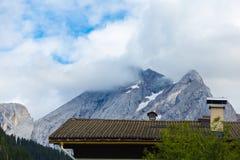 Montagne nelle alpi Immagine Stock
