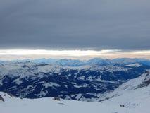 Montagne nelle alpi francesi Fotografie Stock Libere da Diritti