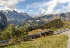 Montagne nelle alpi svizzere Immagini Stock