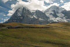 Montagne nelle alpi svizzere Fotografia Stock