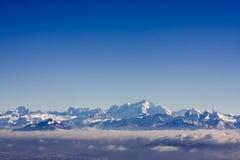 Montagne nelle alpi svizzere Immagine Stock Libera da Diritti