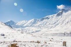 Montagne, Nepal Fotografie Stock