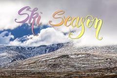 Montagne in neve - alpi australiane, Nuovo Galles del Sud, Australia Fotografia Stock Libera da Diritti