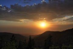 Montagne New Mexico di Sacramento Fotografia Stock Libera da Diritti