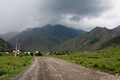Montagne noire Photographie stock libre de droits