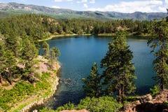 Montagne a nord di Durango, Colorado fotografie stock libere da diritti