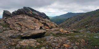 Montagne nordiche Fotografia Stock Libera da Diritti
