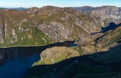 Montagne norvégienne Photographie stock libre de droits