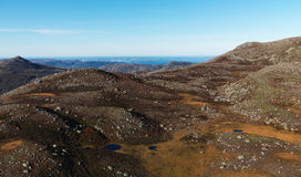 Montagne norvégienne Photographie stock