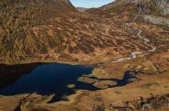 Montagne norvégienne image stock