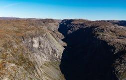 Montagne norvégienne Photos stock