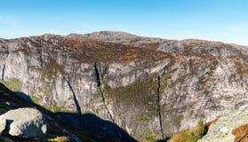 Montagne norvégienne photos libres de droits