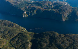 Montagne norvégienne Photo libre de droits