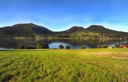 Montagne in Norvegia Fotografie Stock Libere da Diritti
