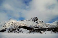 Montagne in Norvegia. Fotografie Stock Libere da Diritti