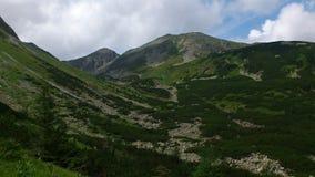 Montagne occidentali di Tatras Immagini Stock Libere da Diritti
