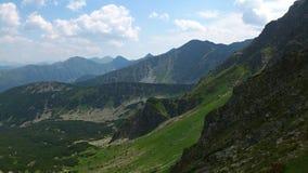 Montagne occidentali di Tatras Fotografie Stock Libere da Diritti