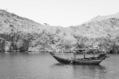 Montagne, Oceano Indiano immagini stock libere da diritti