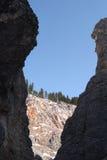 Montagne orientali di Sayan. Altai. Immagini Stock Libere da Diritti