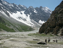 Montagne pakistane Immagine Stock