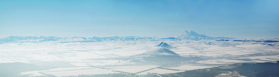 Montagne panoramique Image stock