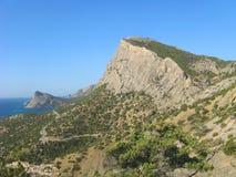 Montagne panoramique Image libre de droits