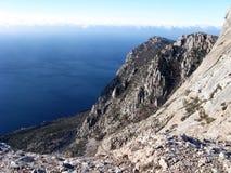 Montagne panoramique Images libres de droits