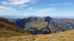 Montagne à partir du dessus Image stock