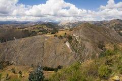Montagne peruviane Fotografia Stock Libera da Diritti