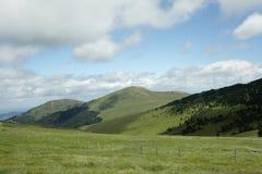 Montagne pirenaiche in Ariege, Occitanie nel sud della Francia Immagini Stock