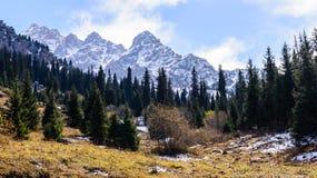 Montagne pittoresche Fotografia Stock