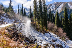 Montagne pittoresche Fotografie Stock
