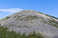 Montagne pliée Photographie stock libre de droits