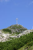 Montagne polacche di Tatra Fotografie Stock Libere da Diritti