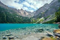 Montagne polacche di Tatra Fotografia Stock Libera da Diritti